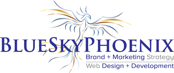 BlueSkyPhoenix Brand + Web + Marketing