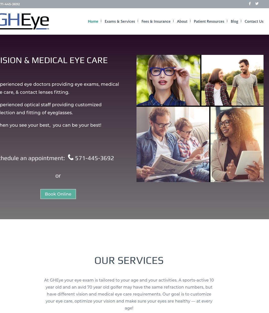 GHEye Vision & Medical Eye Care