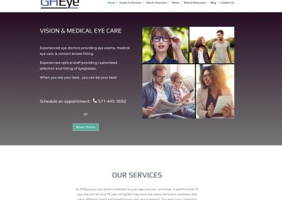 GHEye Vision & Medical Eye Care